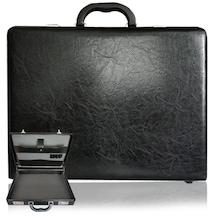 92066efbf1e7b Bond Çanta Kasalı Yerli Ürün Şifreli Evrak Notebook 4 Ebat Siyah