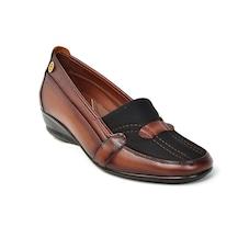 Gökçen 110 Siyah Ortopedik Dolgu Topuk Kadın Ayakkabı