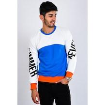 861a0ef6bfd04 Mavisi Erkek Sweatshirt Modelleri & Fiyatları - n11.com - 11/12