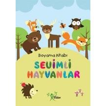 Sevimli Hayvanlar Boyama Kitabi Kollektif Fidan Yayinlari