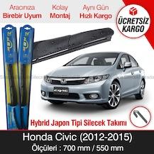 Honda Civic Silecek Takımı 2012 2015 Rbw Hybrid Hibrit Fiyatları