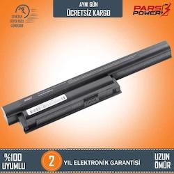 Sony Vaio SVE1512H6E, SVE1512I1E Notebook Batarya - Pil (Pars