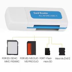 USB Kart Okuyucu Yazıcı Mikro SD M2 Micro SD