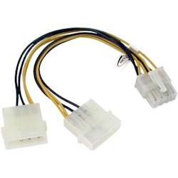 8P 1 to 2 Large 4Px2 Power Line Switch - 15CM