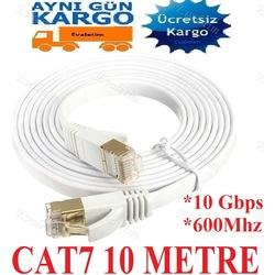 CAT7 ETHERNET İNTERNET KABLOSU 10 METRE 4262p 10Gbps 10M 600Mhz L