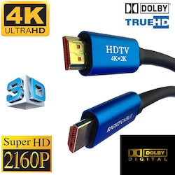 TriLine 4K HDMI Ultra HD 3D 60Hz 2160p Altın Kaplama Kablo