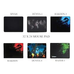 Appa 32x24 - 70x30 - 80x40 - 90x40 - RGB Gaming Oyuncu Mouse Pad