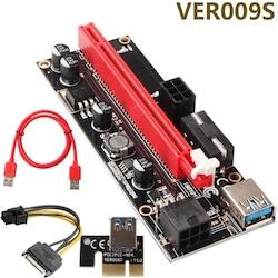 ETHEREUM MINING RISER - PCI Express Riser 009S Extender Card Adap