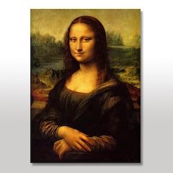 Ahşap Tablo Mona Lisa Baskılı