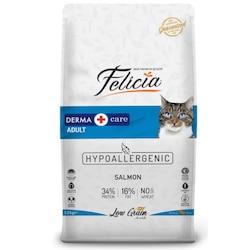 Felicia Derma Care Somonlu Düşük Tahıllı Yetişkin Kedi Maması 12 KG