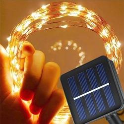 Dekoratif Güneş Enerjili Solar Dış Mekan Peri İp Led Işık