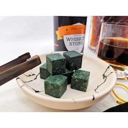 Perlotus Doğal Mermer Viski Taşı & Whiskey Stone's