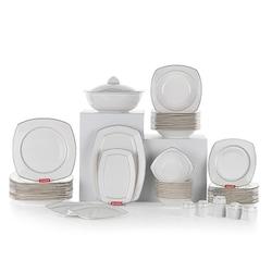 Schafer JUNO 60 Parça Porselen Yemek Takımı PLT01