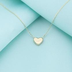 14 Ayar Altın 3D Kalp Kolye 4N31060