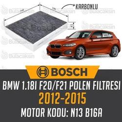 BMW 1.18i F20/F21 2012 - 2015 Bosch Karbonlu Polen Filtresi