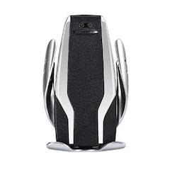 Zore S6 Wireless Charger Araç Kablosuz Hızlı Şarj Telefon Tutucu