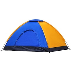 10 Kişilik Su Geçirmez Kamp Çadırı 300x300x170 CM