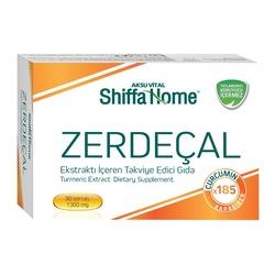 Shiffa Home Zerdeçal Yumuşak Kapsül 30 Softgel Karabiberli