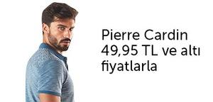 Pierre Cardin erkek giyimde fırsat