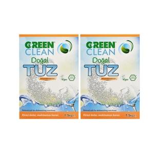U Green Clean Doğal Bulaşık Makinesi Tuzu 2 x 1500 G
