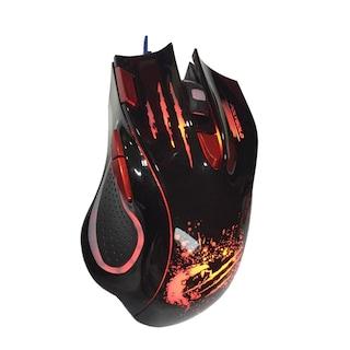 Polygold PG-8812 X7 RGB Kablolu Oyuncu Mouse + Bilek Desteği