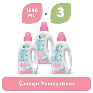 Uni Baby Hipoalerjenik Çamaşır Yumuşatıcı 3 x 1500 ML