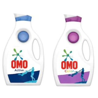 Omo Active Sıvı Çamaşır Deterjanı 1950 ML + Omo Color Sıvı Çamaşır Deterjanı 1950 ML