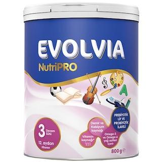 Evolvia Nutripro 3 Devam Sütü 12+ Ay 800 G