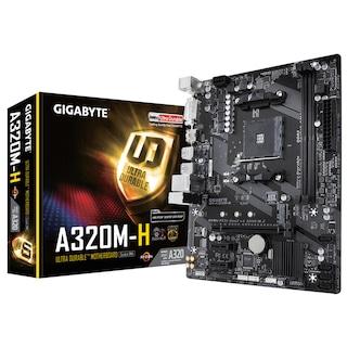 Gigabyte GA-A320M-H AMD A320 3200 MHz (OC) DDR4 Soket AM4 mATX Anakart