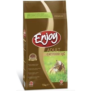 Enjoy Cat Food Tavuklu Yetişkin Kedi Maması 15 KG