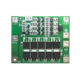 4S 40A Standart Versiyon - Lityum Batarya BMS Koruma Kartı Lipo