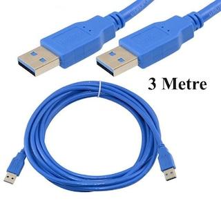 USB 3.0 A Erkek / USB 3.0 A Erkek Kablo - 3 Metre