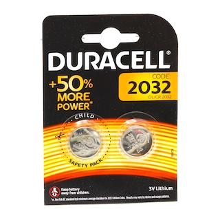 Duracell 2032 Lityum Pil 3 Volt Pil (Bio,Tartı Vb) 2 Adet