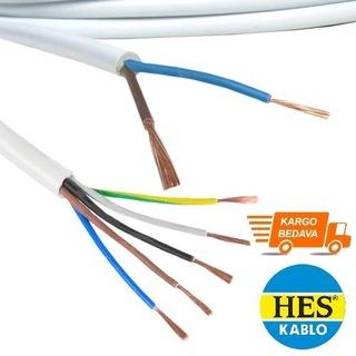 HES TTR Kablo %100 Bakır (Kesit Ve Metre Seçenekli)