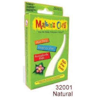 Makin's Clay Hava İle Kuruyan Polimer Kil 32001 Naturel Beyaz