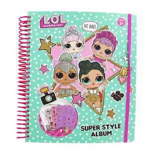 Lol Bebek Super Album Boyama Kitabi Sticker Kalem Seti N11 Com