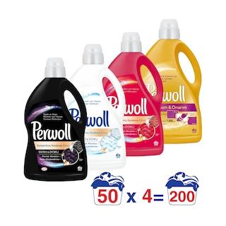 Perwoll Hassas Çamaşır Deterjanı 3lt 4'lü Set