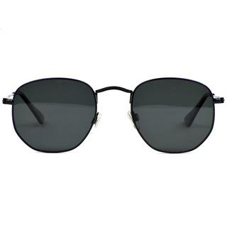 Beşgen Polarize Erkek Güneş Gözlüğü Siyah LN002