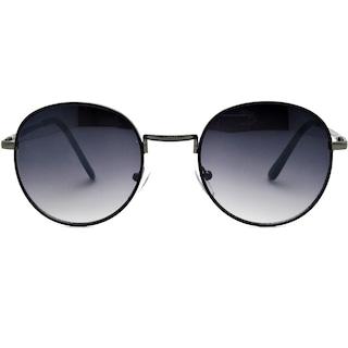 Extoll Yuvarlak Bayan Güneş Gözlüğü Round Metal Çerçeve ex610