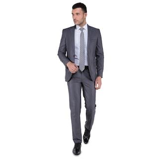 e10cc9e4b1be2 Buenza 6 Drop Dar Kalıp Slim Fit Erkek Takım Elbise - n11.com