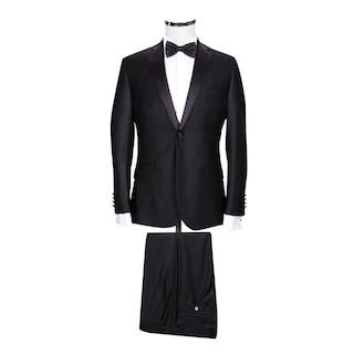 c46fd95a69d29 Ds Damat Slım Fıt Siyah Smokin Takım Elbise - n11.com
