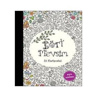 Her Yaş Için Dört Mevsim Boyama Kitabı N11com