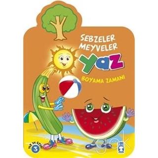 Yaz Sebzeler Meyveler Boyama Zamanı N11com