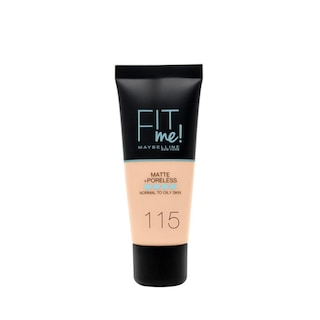 Maybelline New York Fit Me Matte+Poreless Fondöten 115 Ivory