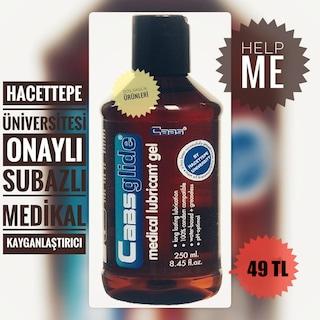 Cabs Glide Su Bazlı Medikal Kayganlaştırıcı Jel 250 ml