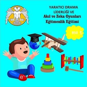 Akıl Zeka Oyunları Eğitmenliği ve Yaratıcı Drama Liderliği