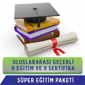 SÜPER PAKET - 9 EĞİTİM