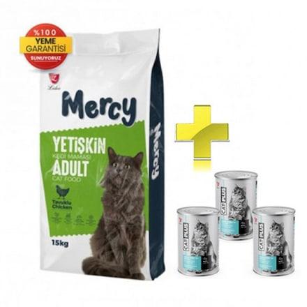 Mercy Tavuklu Yetişkin Kedi Maması