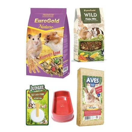 Eurogold Hamster Yem Talaş Yem Katkısı Yalama Taşı