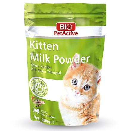 Bio PetActive Kitten Milk Yavru Kedi Süt Tozu